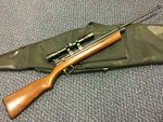 Preloved Crosman 2260 Rabbit Stopper .22 Co2 Rifle with Scope and Bag - Excellent