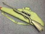 Preloved Crosman Phantom .22 Air Rifle with Scope and Bag - Excellent