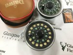 Daiwa Preloved - 809 3.5in Trout Fly Reel with Spool and Case (England) - Used