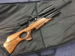 Daystate Preloved - Air Ranger .22 Air Rifle with Scope and Casemat - As New