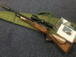 Preloved Daystate Huntsman Regal .177 PCP Air Rifle with Scope Silencer and Bag - Excellent