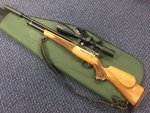 Preloved Daystate Huntsman Regal .22 PCP Air Rifle with Scope Silencer and Bag - Used