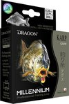 Dragon Lures Millenium Monofilament Carp Dark Brown