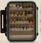 Dragon Boxed All Round River Flies x32