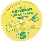 Drennan Sub Surface Green Fly Leader Tippet
