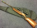 Preloved Edgar Bros Model 60 .22 Air Rifle with Scope - Used