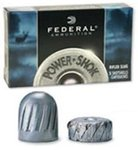 Federal 12 Gauge Power Shok Rifled Slug 1oz 70mm