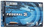 Federal 6.5 Creedmoor 95 Grain V-Max (20 Box)