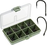 Fladen 80pc Boxed Barbless Carp Hook Set