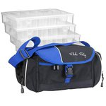 Fladen Tackle Storage Bag w/ 4 Pockets & 4 Boxes
