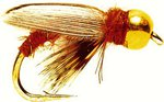 Fulling Mill Sedge Pupa (Gold Nugget)