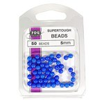 Fog 5mm Beads Blue