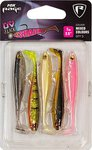Fox Rage Slick Shad UV Mixed Colour Pack