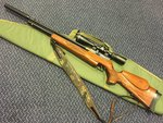 Preloved FX Typhoon Multishot .22 PCP Air Rifle with Scope Sling Silencer and Bag - Excellent
