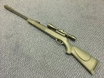 Preloved Gamo CFX Royal Synthetic .22 Air Rifle with Scope and Bag - Used