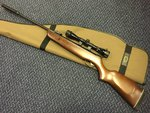 Preloved Gamo Magnum 3000 .22 Air Rifle with Scope Silencer and Bag - Excellent