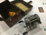 Hardy Preloved - Elarex Multiplier Reel in Box (England) - Excellent
