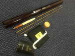 Hardy Preloved - Sirrus Glass RHW 7ft 6in #4/5 3pc Trout Fly Rod - As New