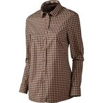 Harkila Selja Lady L/S Check Shirt Bright Port Check