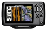 Humminbird HELIX 5 SI Combo GPS / C'Plotter / Sonar Col Side Imaging c/w Txd Temp Int GPS Ant