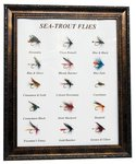 Just Fish Framed Seatrout Flies