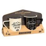 Gentlemen's Hardware Enamel Adventure Tall Mug Set