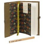 Just Fish Hook Line and Sinker Notebook with Pencil
