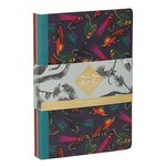 Just Fish Mini Notebook 3 Pack Set inc Salmon Flies