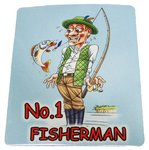 Just Fish No1 Fisherman Mousemat
