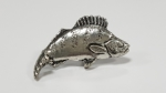 Just Fish Pewter Pin Small Perch