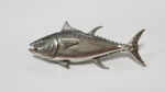 Just Fish Pewter Pin Tuna