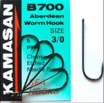 Kamasan B700 Aberdeen Worm Hook 7pc
