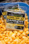 Korum CS Barbless Hooks To Nylon Corn/Bread