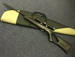 Preloved Kral  AI 755-S Thumbhole Synthetic .22 Air Rifle with Scope and Bag - As New