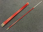 Preloved Leeda Twistloc Spiralpoint Banksticks 84-150cm x8 - Excellent