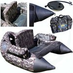 Lineaeffe Camo Float Tube XXL With Pump and Carry bag