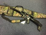 Preloved Logun Gladi8tor .22 Air Rifle with Scope and Bag - Used