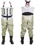 LTS Stormshell Breathable Chest Waders 5 Layer Zip Bootfoot