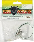 Lureflash Bison Predator Single Treble Wire Trace 2pc