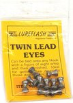 Lureflash Twin Lead Eyes 10pc