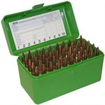 MTM 50 Round Large Calibre Ammo Box