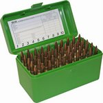 MTM 50 Round Large Rifle Ammo Box