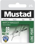 Mustad AS09 Match Maggot Hooks to Nylon