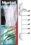 Mustad Mackerel Feather White 6H 3/0