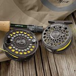 Orvis Battenkill Black Nickel Fly Reels