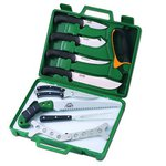 Outdoor Edge Game Processor 12 Piece Knife Kit