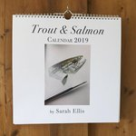 Partridge Sarah Ellis Trout & Salmon Calendar 2019