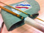 Pezon et Michel Preloved - Parabolic Skish 8ft2 #5 Cane Fly Rod - Excellent