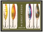 Westin Quattro Pack Lures Great Heron