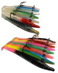 Red Gill Evolution Sand Eel Lures